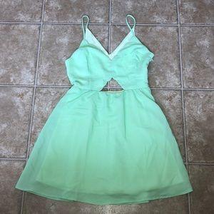 Lush mint Dress